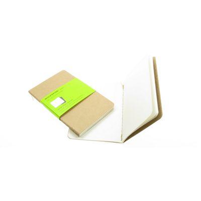 Moleskine Cahiers Pocket Plain Journals Kraft Cover