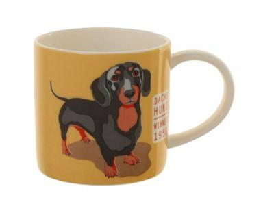 Ulster Weavers Ralf the Dachshund Dog Porcelain Straight Sided Mug 8RLF65