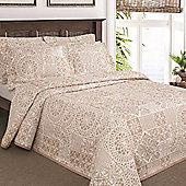 Moda De Casa Lace Patchwork Soft Touch Oxford Pillowsham Oatmeal