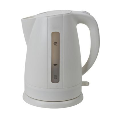 Tesco JKWP12 2.2kW 1.7L Jug Kettle - White