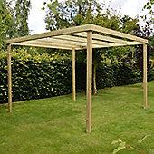 Garden Box Pergola 3.0m x 3.0m