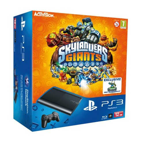 PlayStation 3 12GB Super Slim Console with Skylanders Giants (Bundle)