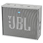 JBL Go Portable Rechargeable Bluetooth Speaker - Grey