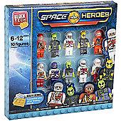 Block Tech 10 Block Figures -Space Heroes