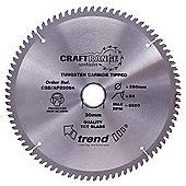 Trend - Saw blade alloy or plastic 250mm x 80 teeth x 30mm - AP/250X80X30
