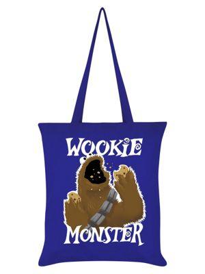Wookie Monster Royal Blue Tote Bag
