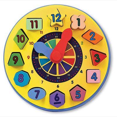Melissa & Doug - Shape Sorting Clock