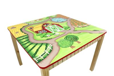 Fantasy Fields Childrens Kids Toddler Wooden Table Indoor (no chairs) TD-11324A1
