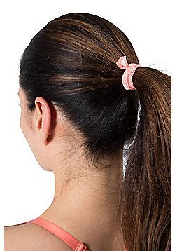 Zakti Hair Ties Pack Of 3 - Coral
