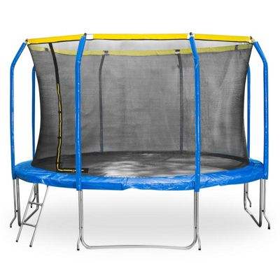 Buy Jumpstar Sports Trampoline With Internal Safety Net & Ladder
