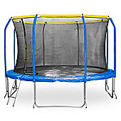 JumpStar Sports Trampoline With Internal Safety Net & Ladder - 10ft