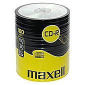 MAXELL 100 x CD-R 700MB Blank Recordable Digital Discs