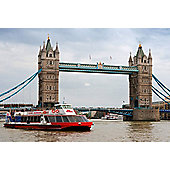 2 for 1 Thames Sightseeing Cruise River Red Rover Pass for Two