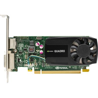 HP Quadro K620 Graphic Card - 900 MHz Core - 2 GB DDR3 SDRAM - PCI Express 2.0 x16 - Low-profile - Single Slot Space