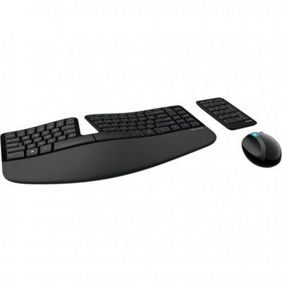Microsoft Sculpt Ergonomic Desktop Keyboard, Keypad & Mouse