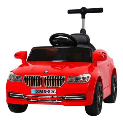 BMW Style 12V Electric Ride on Car With Parental Handle Red - RideonToys4u