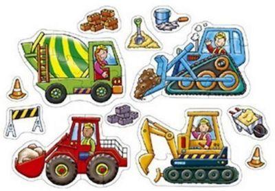 Big Wheels Puzzle