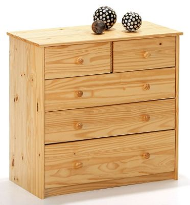 Aspect Design York Chest of Five Drawer Configuration in Natural