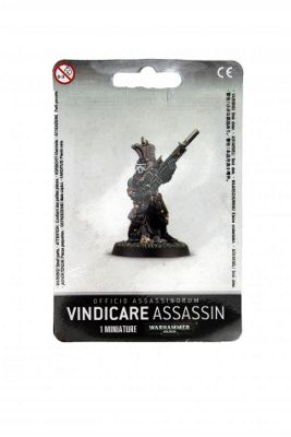 Warhammer Officio Assassinorum Vindicare Assassin Model Kit