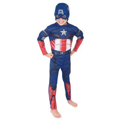 Rubies UK Deluxe Padded Chest Captain America- M