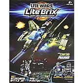 Lite Wars Lite Brix - Scorcher's Battle Jet VS. Fire Phantom