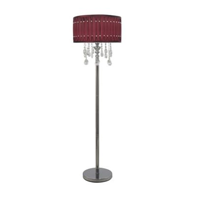 CH Crystal Drop Floor Lamp W.