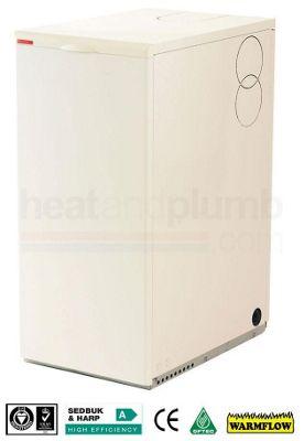 Warmflow U-SERIES Kitchen / Utility Condensing System Oil Boiler 15-21kW