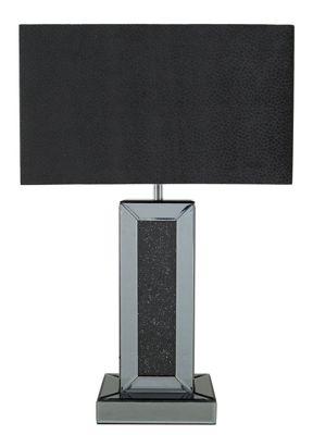 70cm Smoked Black Milano Tbl