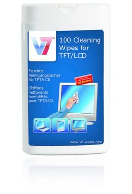 V7 TFT LCD Cleaning Wipes