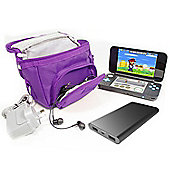 Twitfish Nintendo DS Travel Bag - Purple