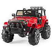 BIG SUV Trailcat Style 12v Electric Jeep - Red