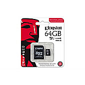 Kingston Technology Industrial Temperature microSD UHS-I 64GB MicroSDXC