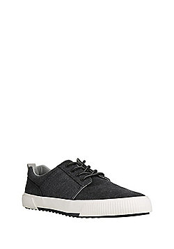 F&F Canvas Gibson Shoes - Washed black