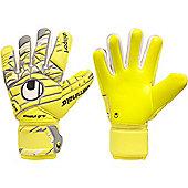 Uhlsport Eliminator Absolutgrip Hn Goalkeeper Gloves Size - Yellow