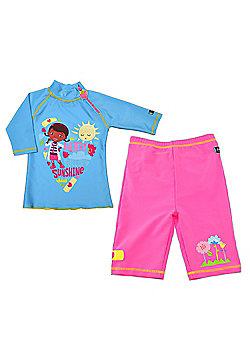 Doc McStuffins UV Shirt and Shorts 5 to 6 Years