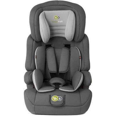 KinderKraft Comfort Up Car Seat 1-2-3 - Grey