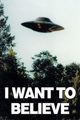 The X-files I Want To Believe Poster 61x91.5cm