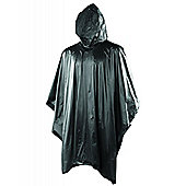 Yellowstone Lighweight Waterproof Poncho Black One size