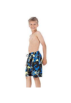 "Speedo Boy's Seasplash Watershorts For Swimming & Leisure 17"" Leg Length Shorts - Multi"