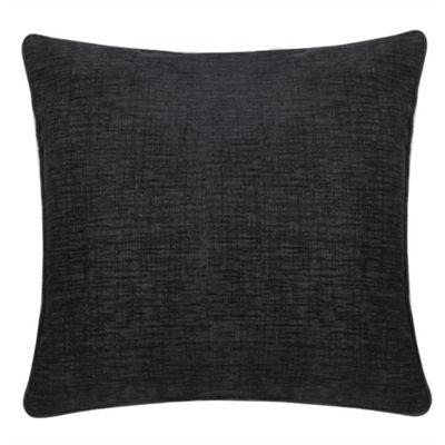 Chenille Cushion - Black
