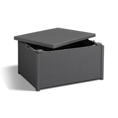 Allibert Arica Storage Table - Graphite
