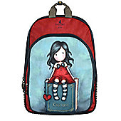 Santoro Gorjuss My Story Red Backpack 26x41x9cm