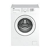 Beko Washing Machine, WTG620M1W, 1000 rpm, 6KG Load - White