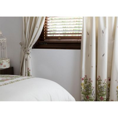 Country Dream Bella Mae Pencil Pleat Curtains - 66x54 Inches (168x137cm)
