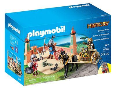 Playmobil 6868 History Gladiator Arena