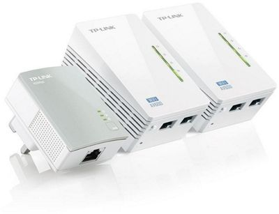 TP-Link Powerline 600 Wi-Fi 3-pack Kit