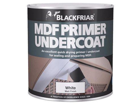Blackfriar BKFMDFP1L 1 Litre Quick Drying MDF Acrylic Primer Undercoat