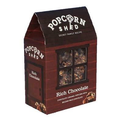 Rich Chocolate Popcorn