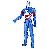 Avengers Titan Hero Series Iron Patriot 12 Inch Action Figure
