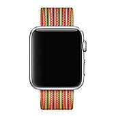 Apple MMA62ZM/A Band Gold Red Nylon 42mm Gold/Red Woven